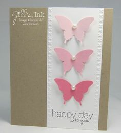 Butterfly Card Q April 2013