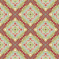 Joel Dewberry - Notting Hill - Kaleidoscope in Poppy