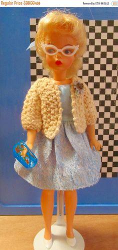 ON SALE 50% Vintage Ideal Tammy Doll In Original by DressMeDoll