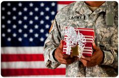Use couponing stockpile to send care packages to deployed soldiers...list of suggested items and items to stay away from, plus details on how to get free shipping supplies sent directly to you from USPS so all you pay for is shipping (and contents of care package).  Awesome idea, especially for the holidays!
