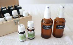 5分でできる!アロマスプレーの作り方 | アロマライフスタイル Shampoo, Herbs, Wine, Bottle, Flask, Herb, Jars, Medicinal Plants