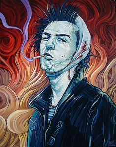 """Vicious Vangogh"" by Dave MacDowell Studios, via Flickr"