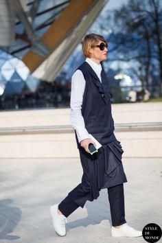 Elisa Nalin Street Style Street Fashion Streetsnaps by STYLEDUMONDE Street Style Fashion Photography
