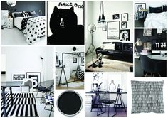 We take a look at Black and White design within home Decor.
