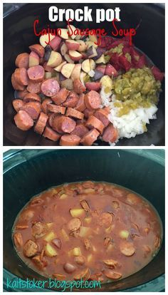 21 Day Fix approved, food that helps you lose! For Me: Crockpot Cajun Sausage Soup