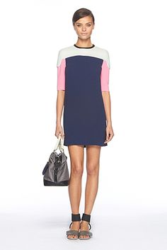 Yumi Color Block Dress...this might very well be the most perfect piece of clothing ever.