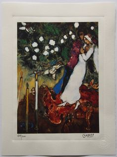 Marc Chagall Special Edition Print  Vintage by ValueVintagePrints