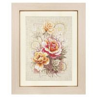 American Roses Counted Cross Stitch Kit