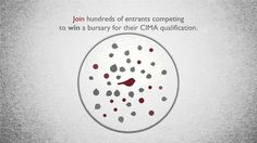The latest from us - conceptual advert for Goodman Masson - apply to win a bursary towards your CIMA qualification.