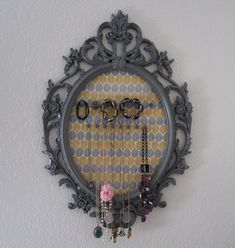 DIY Jewelry Organizer - Purple Patch DIY Crafts Blog