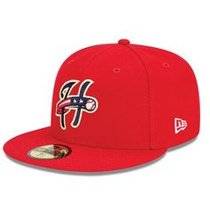2f58834ffe1be New Era 59Fifty On-Field Home Cap - Red New Era 59fifty