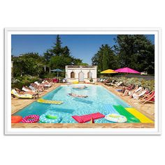 Pool in Bordeaux France Oversize Photographs ($399) ❤ liked on Polyvore featuring home, home decor, wall art, white wall art, white home decor, oversized wall art, european home decor and photo wall art