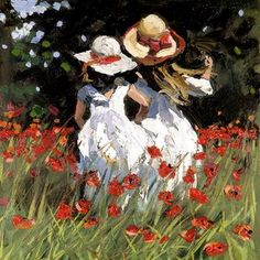 Summer Poppies a limited edition print by Sherree Valentine Daines