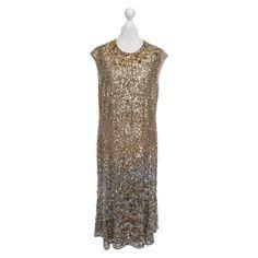 Escada Abendkleid mit Pailletten Second Hand ➽ Kaufen Sie den Artikel Escada Abendkleid mit Pailletten gebraucht und auf Echtheit & Qualität geprüft für nur 350,00 € im REBELLE Designer Second Hand Online-Shop (2018426).
