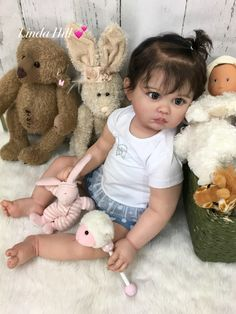Best Reborn toddler ideas on Life Like Baby Dolls, Real Baby Dolls, Realistic Baby Dolls, Baby Girl Dolls, Silicone Baby Dolls, Silicone Reborn Babies, Silikon Wiedergeborene Babys, Baby Dolls For Toddlers, Reborn Toddler Girl