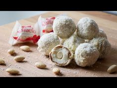 33 Ideas For Cupcakes Rezepte Raffaelo Healthy Cupcake Recipes, Cake Pop Molds, Cross Cakes, Sweet Table Wedding, Gluten Free Biscuits, Baking Videos, Wedding Cake Decorations, Wedding Cupcakes, Mascarpone Cheese