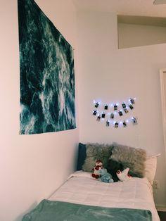 Dream Rooms, Dream Bedroom, Cute Room Ideas, Uni Room, Room Goals, Room Setup, College Dorm Rooms, Awesome Bedrooms, My New Room