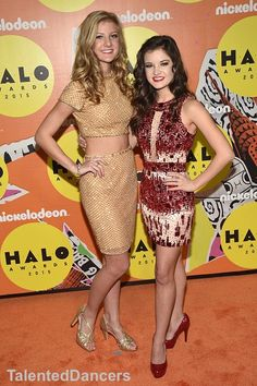The Hyland Sisters at Nickelodeon's Halo Awards