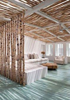 Décoration DIY en tronc de bouleau – 40 idées et inspirations