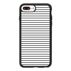 iPhone 7 Plus/7/6 Plus/6/5/5s/5c Case - MINIMAL STRIPES found on Polyvore featuring accessories, tech accessories, phone cases and iphone grip case