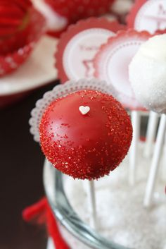Valentine's Day Special: My Cake Pops & Cupcakes on German TV show - this one here is for Angie, only :-)