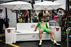 Peter Sagan (Tinkoff) exhausted after a mountain time trial
