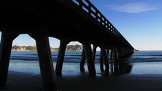 Longest Wharf in NZ. in length. Kiwiana, East Coast, New Zealand, Pictures, Blue, Photos, Grimm