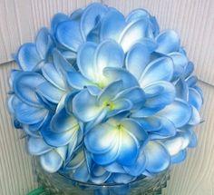 Plumeria Bouquet Frangipani Bouquet Real by SilkFlowersByJean, $90.00