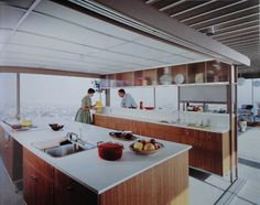 the best kitchen I've seen in the Stahl House by Pierre Koenig