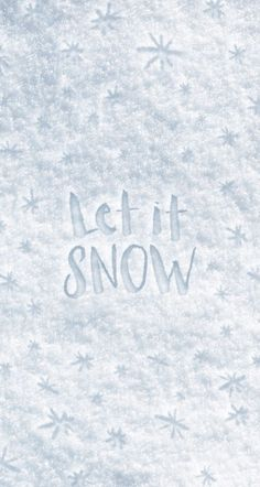 White grey snow stars Let it snow iphone wallpaper phone background lock screen