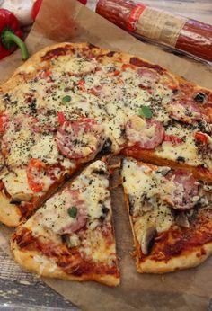 Pizza Recipes, Chicken Recipes, Dinner Recipes, Cooking Recipes, Healthy Recipes, B Food, Food Porn, Vegan Scones, Scones Ingredients