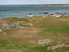 "Island of Eriskay chosen by FIFA as one of eight ""remarkable places to play football"" - Telegraph"