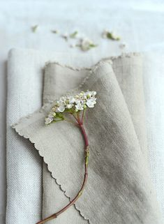 Mouse Chunky Stonewashed Linen