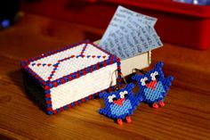 Hama Beads by lwordish2010, via Flickr