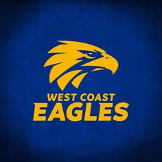 West Coast Eagles, Block Patterns, Sports Equipment, Western Australia, Blue Gold, Yard, Quote, Football, Graphics