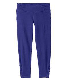 fc75af91a63d Athleta Amalfi Blue OC Kama Organic Capri Pants