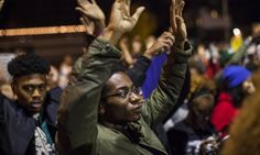"""St Louis protests to continue after 17 arrests made in Ferguson - 10/12/14 - St Louis police chief Sam Dotson posted on Twitter that protesters were """"attempting to storm"""" the business. He later posted that protesters were """"throwing rocks at the police"""" and """"arrests have been made for continued illegal behavior""""."""