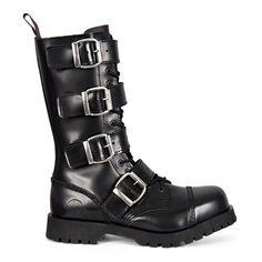 NEVERMIND Combat Boots @ SinisterSoles.com