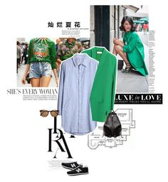 """""""Green piece."""" by sa3ina ❤ liked on Polyvore featuring LARA, New Balance, Rebecca Minkoff, Witchery, women's clothing, women's fashion, women, female, woman and misses"""