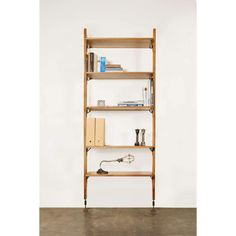 Old Bones is proud to present the Theo Small Wall Unit With Shelves by Nuevo Living. Features: Solid hard fumed oak Blackened steel hardware Dimensions: Size: x 12 x Wall Shelving Units, Oak Shelves, Modular Shelving, Large Shelves, Modern Shelving, Adjustable Shelving, Storage Shelves, Shelf, Contemporary Bookcase