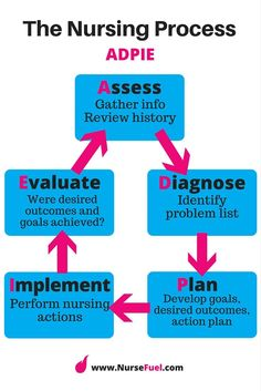 Nursing order of processes in research