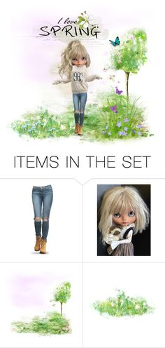"""""""Signs of spring"""" by riri-thatsme ❤ liked on Polyvore featuring art"""