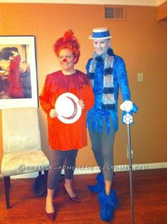 Coolest Last-Minute Heat Miser and Snow Miser Couple Costumes... Coolest Homemade Costumes