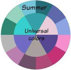 Summer universal colors
