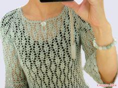 Блуза. Азиатская модель.