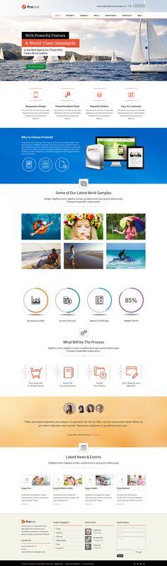 Prolook – Multipurpose Responsive WordPress Theme  #web #design