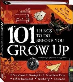101 Things to Do Before You Grow Up by Hinkler (Spiral - Hardback) As new  Visit our family business...The Ginger Sheep £6.99