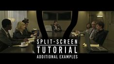 INVISIBLE SPLIT-SCREEN TUTORIAL 2 - Additional Examples (The David Fincher Technique) - YouTube