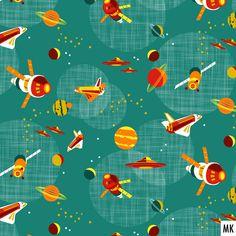 Space adventures teal-red available in my @Spoonflower shop. #designforkids #fabriclovers #graphicdesign #igersaustria #igerslinz #intergalactic #kidsfabric #patterndesign #patternobserver #patternoftheday #planeten #space #spaceship #spoonflower #spoonflowerchallenge #spoonflowerde #spoonflowerdesigners #spoonflowerfabric #spoonflowerfabrics #spoonflowermakers #surfacepatterncommunity #surfacepatterndesign #tapetenmuster #textildesigner #textiledesign #ufo #текстильныйдизайн #aircraft