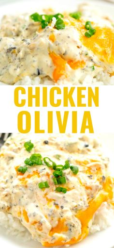 A creamy delicious chicken dinner made easy by using a rotisserie chicken. A creamy delicious chicken dinner made easy by using a rotisserie chicken. Easy Oven Recipes, Easy Meals, Cooking Recipes, Yum Yum Chicken, Baked Chicken, Recipe Chicken, Rotisseri Chicken Recipes, Cooked Chicken Recipes Leftovers, Sriracha Chicken